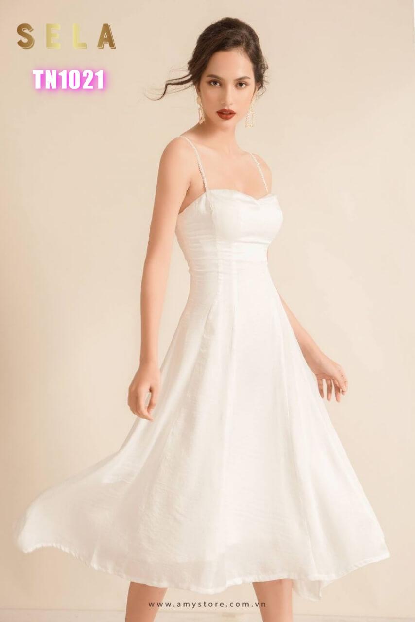 váy đẹp dự tiệc cưới